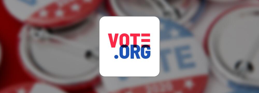 Vote.org logo.