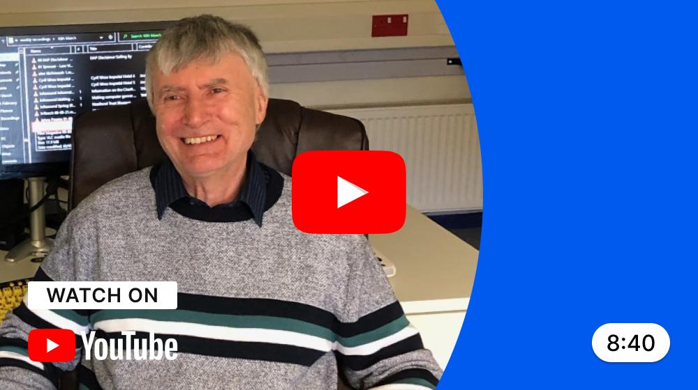 Watch John's story on Youtube.
